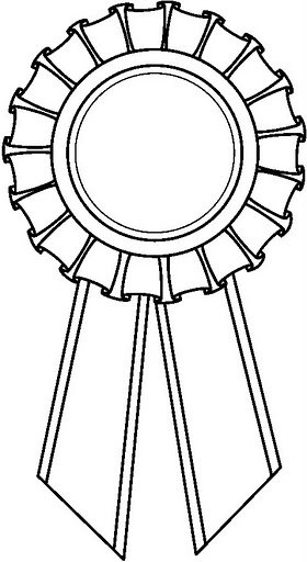 Ribbon Coloring Pages Ribbon Coloring Page